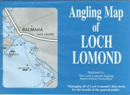 A superb colour angling map of Loch Lomond!