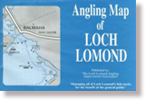 Angling map of Loch Lomond